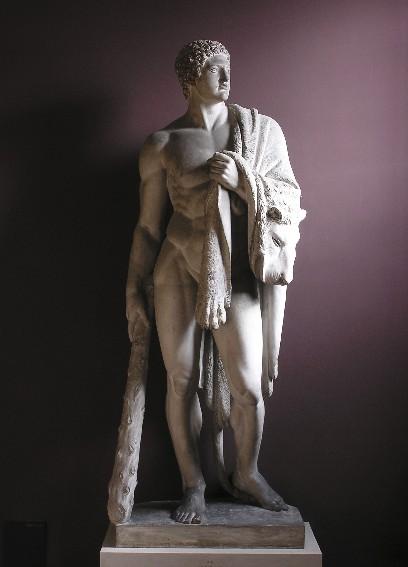 Herkules, gipsskulptur, A 14