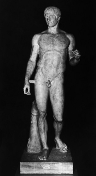 Doryphoros (Spydbæreren), Museo Nazionale Napoli, s/h